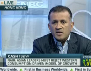 Chandran Nair on CNBC: Asia Can't Be the Global Economy's Hero