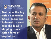 Rethinking Asian capitalism: Author Chandran Nair speaks to NUS
