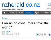 Can Asian consumers save the world?