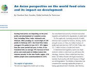An Asian perspective on the world food crisis and its impact on development (UNCTAD)